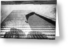 Reflections Of Freedom Greeting Card