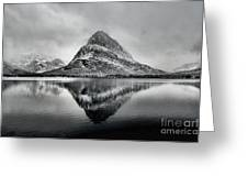 Reflections Of Grinnell Greeting Card