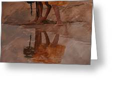 Reflections Of India Greeting Card