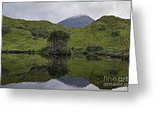 Reflections Of Loch Ailt Greeting Card