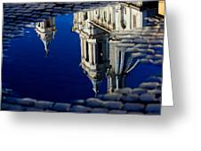 Reflections Of Rome Greeting Card
