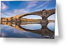 Reflections On Fernbridge Greeting Card