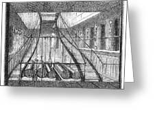 Refrigerated Ship, 1876 Greeting Card