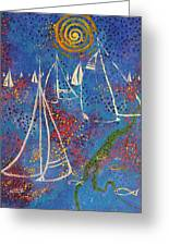 Regata Di Primavera Greeting Card