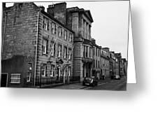 Regent Quay Aberdeen Scotland Uk Greeting Card