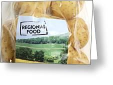 Regional Food Greeting Card