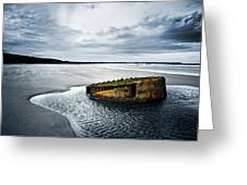 Reighton Sands Coast Greeting Card
