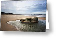Reighton Sands Shore Greeting Card