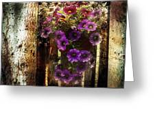 Relaxed Beauty Greeting Card