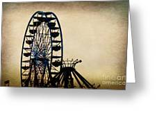 Remember When Ferris Wheel Greeting Card