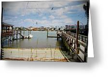 Remembering Wrightsville Beach Greeting Card by Joan Meyland