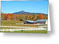 Remick Farm Autumn Greeting Card