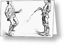 Remington: Cowboy, 1888 Greeting Card
