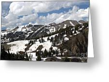 Rendezvous Mountain 2 Greeting Card