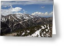 Rendezvous Mountain Greeting Card