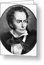 Rene Laennec, French Physician Greeting Card