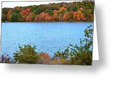 Repeated Colors Greeting Card