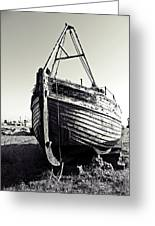 Retired Fishing Boat Greeting Card