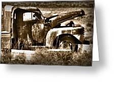 Retired Truck Greeting Card