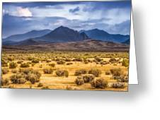 Reverse Mountains And Aeolian Buttes Greeting Card