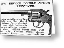 Revolver, 19th Century Greeting Card