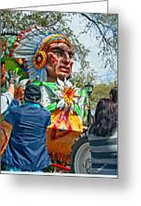Rex Mardi Gras Parade Vii Greeting Card