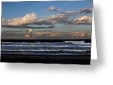 Rexham Beach Sky Greeting Card