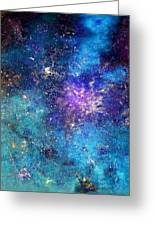 Rhapsody Of Stars  In G Major Greeting Card