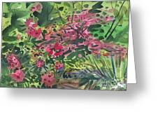 Rhododendrons And Azaleas Greeting Card