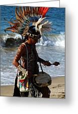 Rhythm Of The Ocean Greeting Card