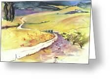 Ribera Del Duero In Spain 06 Greeting Card