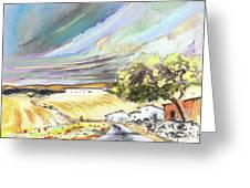 Ribera Del Duero In Spain 13 Greeting Card