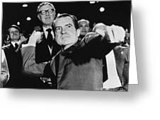 Richard Nixon (1913-1994) Greeting Card