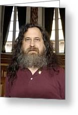 Richard Stallman, Software Developer Greeting Card