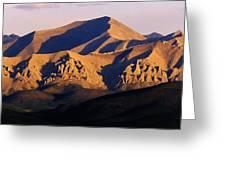 Richardson Mountains, Dempster Highway Greeting Card