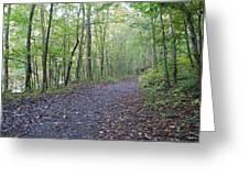 Richland Mine Trail Greeting Card