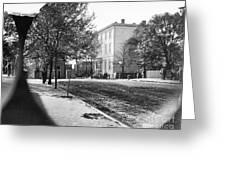 Richmond: Davis Home, 1865 Greeting Card