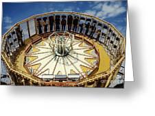 Ride At Fair Greeting Card