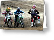 Riders Ready Greeting Card