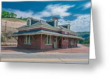 Ridgway Depot 16744 Greeting Card