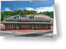 Ridgway Depot 16747 Greeting Card