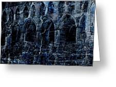 Rievaulx In The Crack Of Night Greeting Card by Jen White