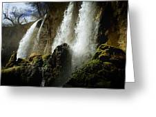 Rifle Falls I Greeting Card