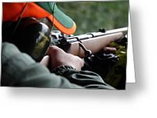 Rifle Training Greeting Card