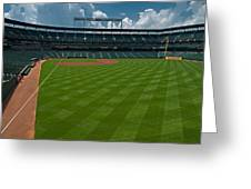 Right Field Of Oriole Park At Camden Yard Greeting Card