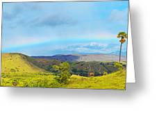Rinca Panorama Greeting Card