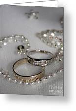 Rings Of Love Greeting Card by Joanne Kocwin