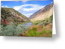 Rio Grande Colors Greeting Card