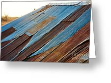 Rippled Roof  Greeting Card