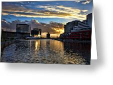 Rippled Waters  Greeting Card